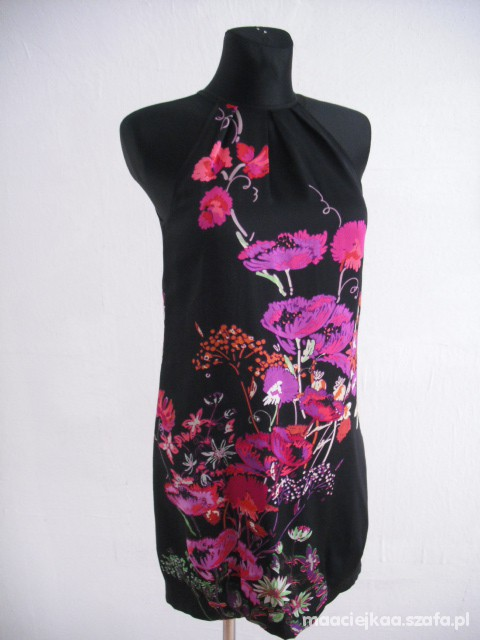 Suknie i sukienki Warehouse kwiecista sukienka