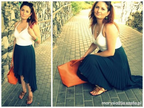 Mój styl ostatni powiew lata Marcelka Fashion