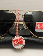 Ray Ban Aviator Black&Gold