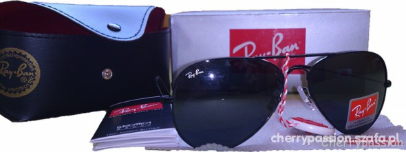 ray ban okulary czarne