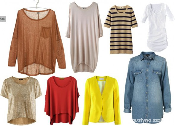 Ubrania MOJE WISH wymiankowe MIX