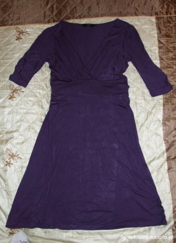 Suknie i sukienki Sukienka kopertówka F&F 38 ŚLICZNA