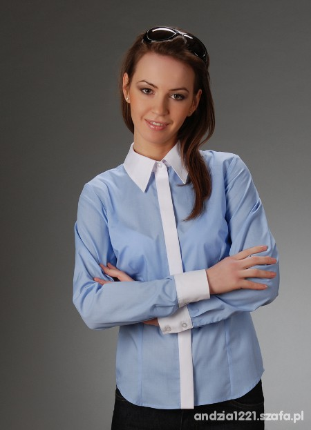 koszula białe mankiety
