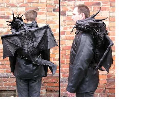 Plecak horror maszkaron goth