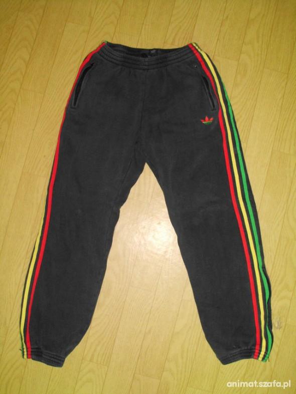 gorące produkty sklep dyskontowy taniej Mega dresy ADIDAS reggae RASTA jamaica ściągacze M w Spodnie ...