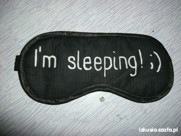 Pozostałe opaska na oczy do spania