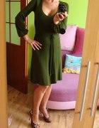 Zielona Dzianinowa Zara...