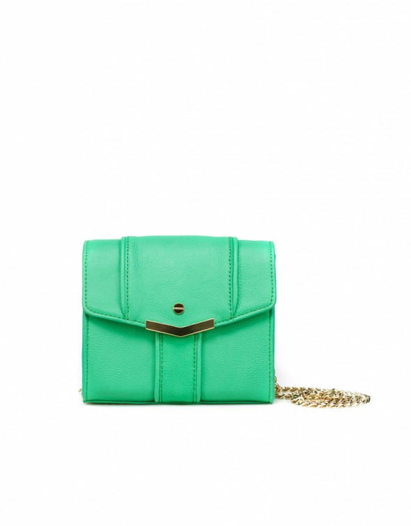 mini mint zara bag...