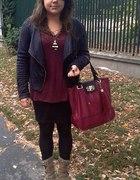 modny burgund