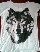 bluzka wilk...