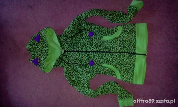 zielona panterkowa PaperCats