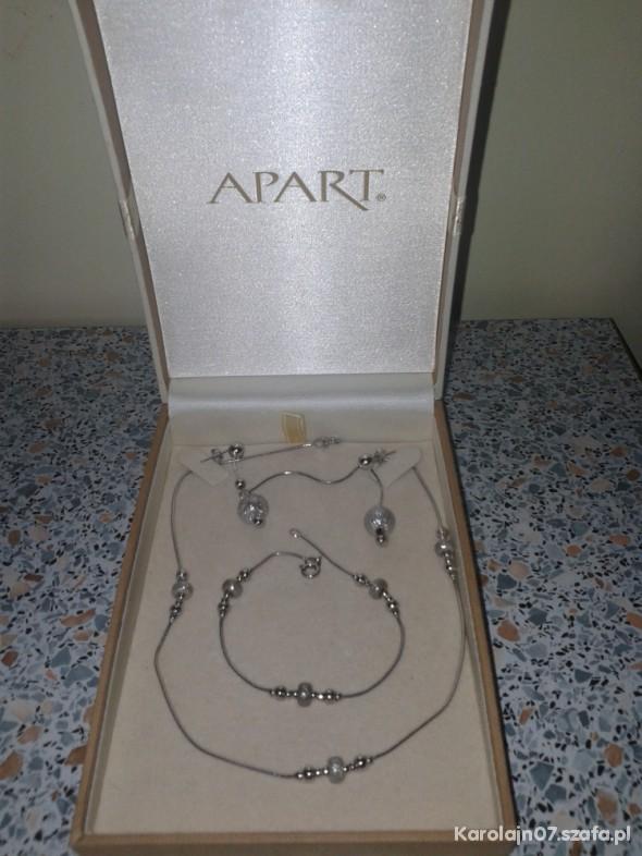 0d6d9e429221 Komplet srebrnej biżuterii firmy APART w Bransoletki - Szafa.pl