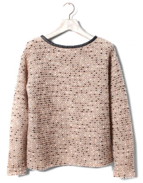 cudny sweter pull&bear zip