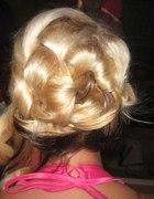 fryzura na wesele...
