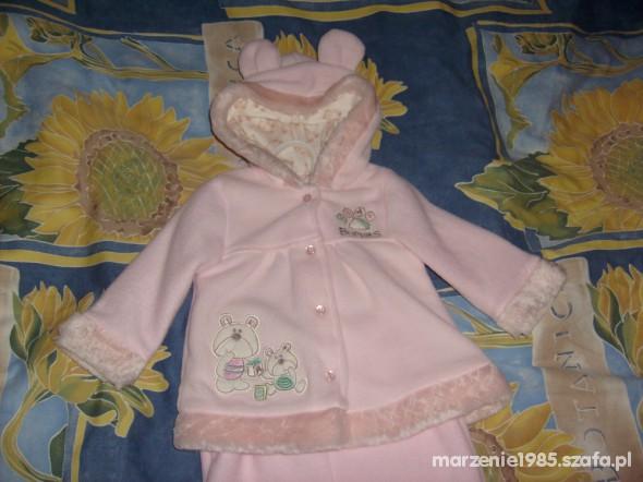 Komplety Różowy komplecik dla dziewczynki 12m