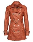 Płaszcz skóra Amisu New Yorker 36 M rudy...