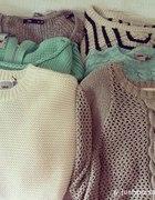 Ciepłe grube swetry