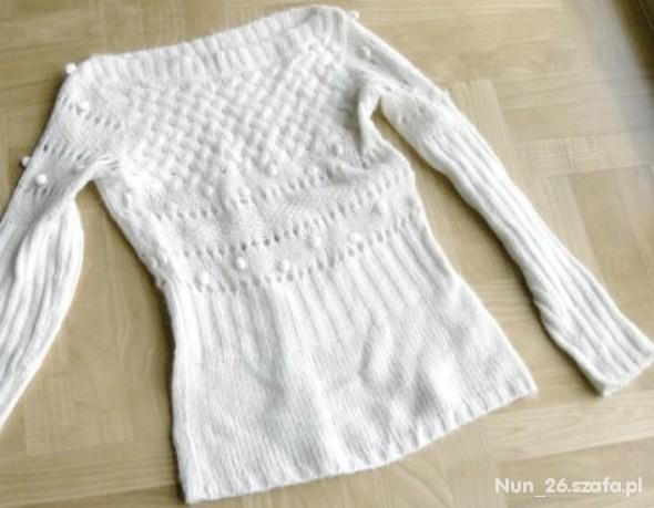 Vero Moda Sweter AŻUROWY...