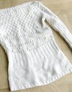 Vero Moda Sweter AŻUROWY
