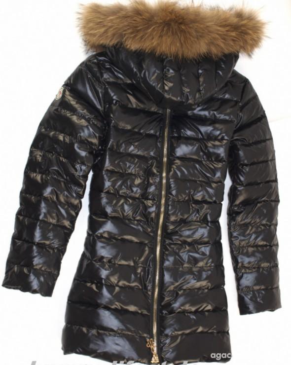 płaszcz moncler czarne
