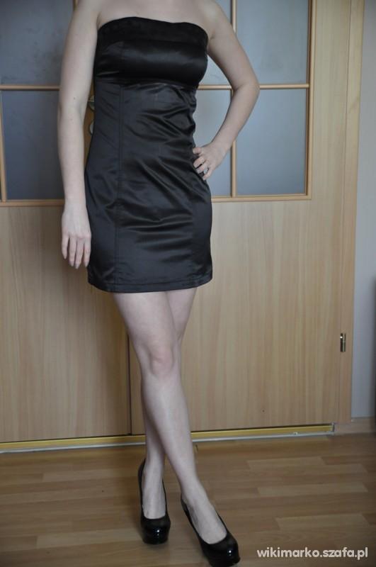 Suknie i sukienki Mała Czarna sukienka rozmiar 36