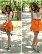 Dżastalandia Orange skirt