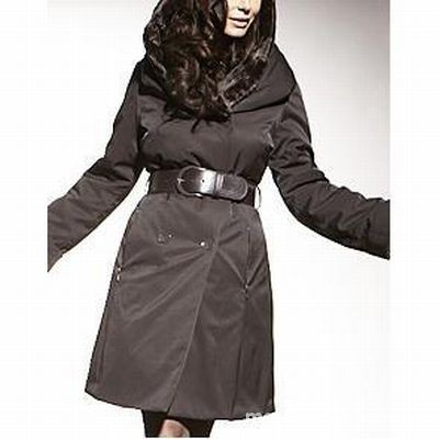 Ubrania Conmar Vivero czarny płaszcz szukam