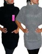 Długi swetr