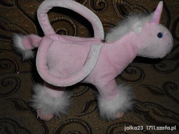 Zabawki rózowa torebeczka jednorozec dla modnisi