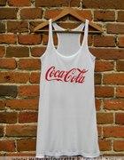 top koszulka coca cola xs lub s...