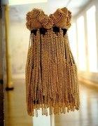 złota sukienka