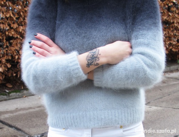 h&m sweterek ombre