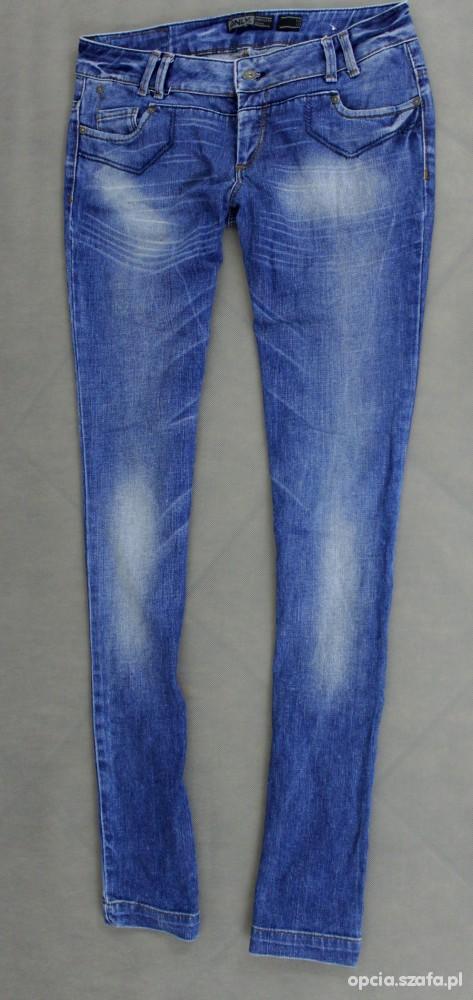 Spodnie ONLY spodnie jeansowe SUPER L
