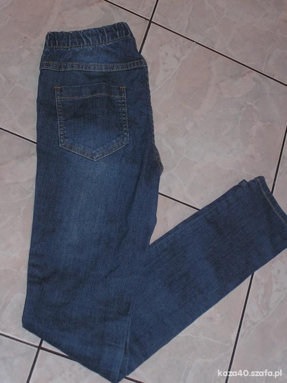 Spodnie niebieskie tregginsy S M
