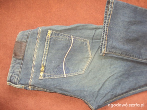 Spodnie Lee CORAL PATCH W29 L33 ORGINALNE