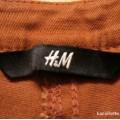 brązowe rurki H&M