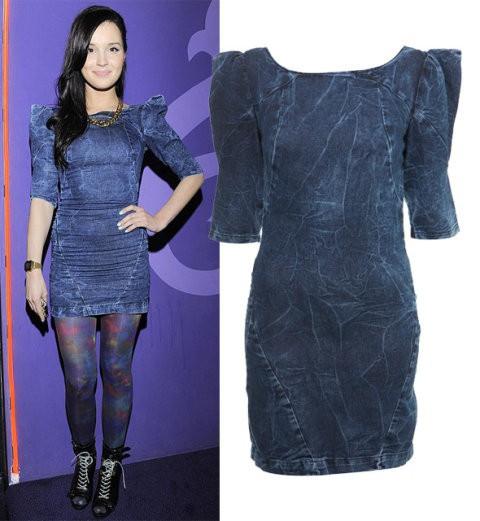 sukienka jeansowa marina...