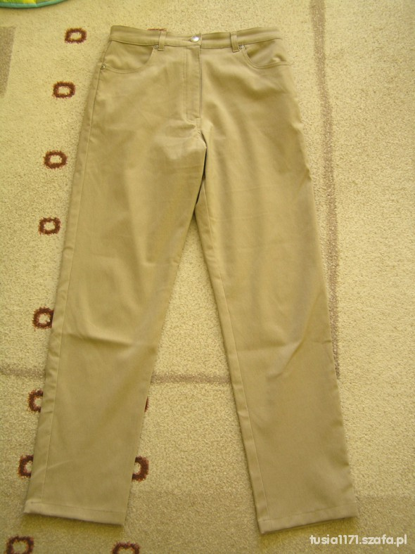 Spodnie Spodnie z wyższym stanem M L