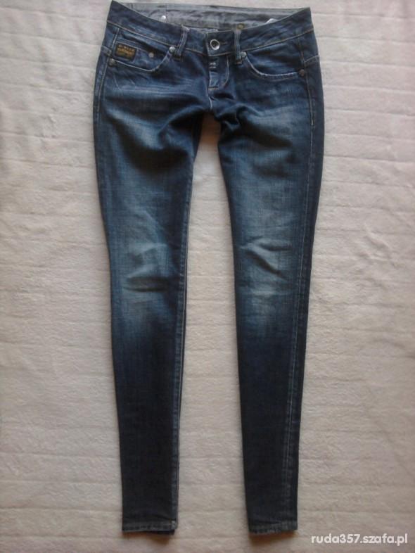 Spodnie rurki Denim G star S