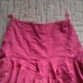 czerwona rozkloszona spodnica reserved M