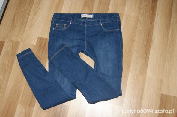 Spodnie Klasyczne Jegginsy Treginsy r40 denim Co