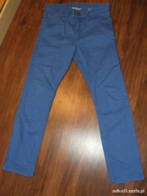 Spodnie niebieskie rurki HiM 38