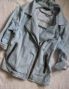 jeansowa ramoneska L