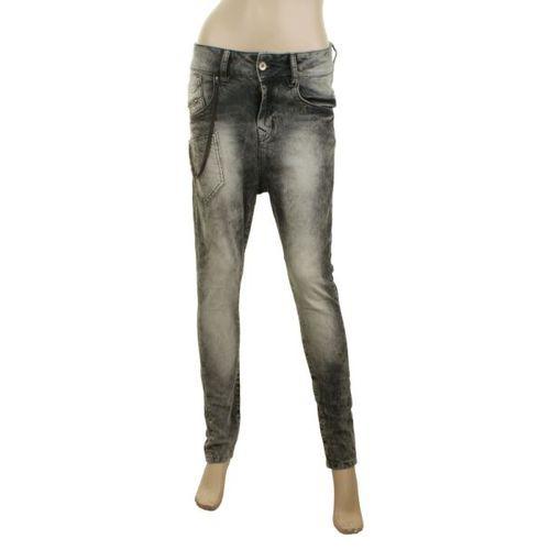 Spodnie spodnie z obniżonym krokiem