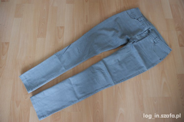 Spodnie Szare spodnie r 40
