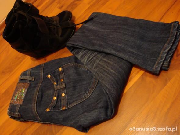 Spodnie Rurki RED CHILLI Skiny jeans 36