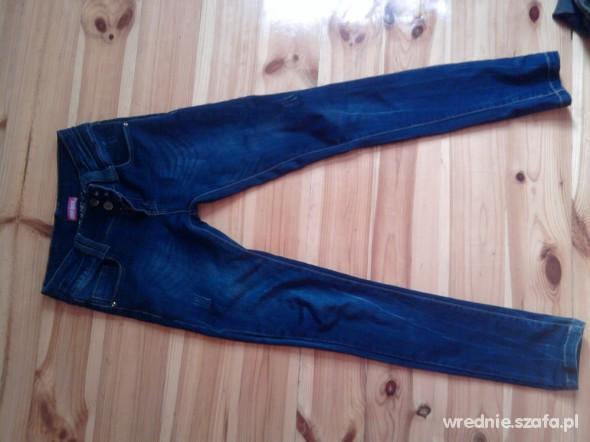 Spodnie Skinny rurki XXS XS