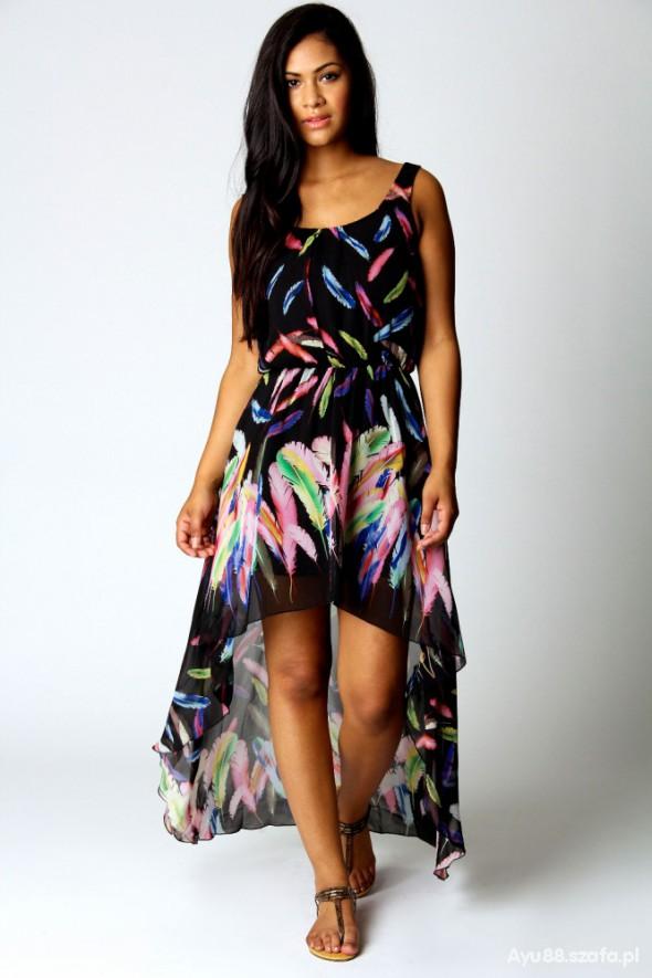 Na specjalne okazje mega sukienka