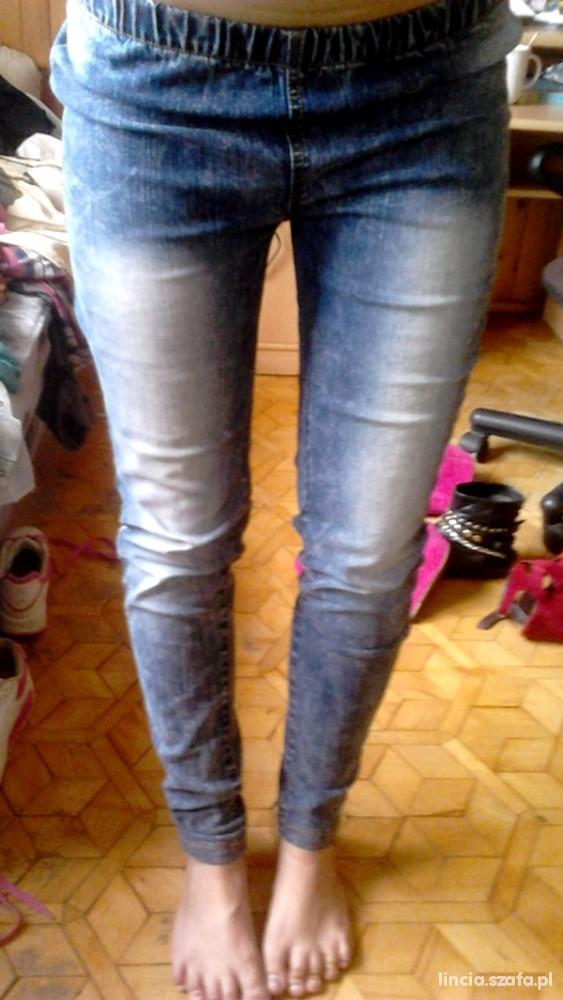Spodnie rurki marmurki