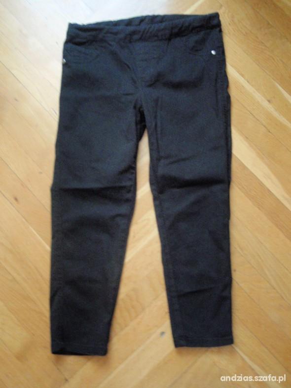 Spodnie Czarne treginsy